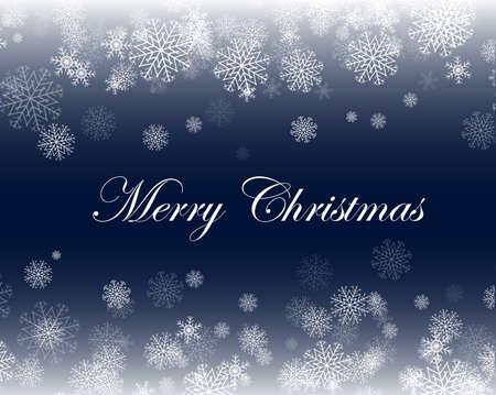 あなたのデザインの雪の結晶クリスマス背景を抽象化します。  イラスト・ベクター素材