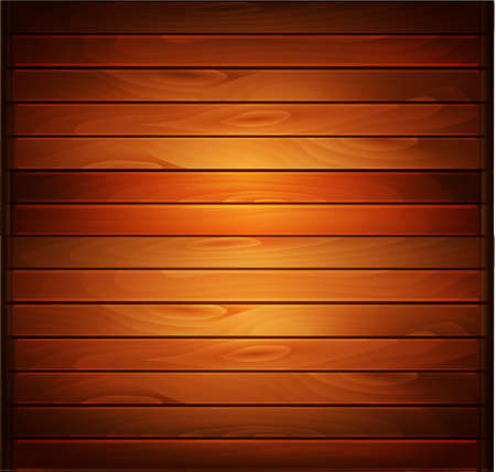 Vector wood plank background in warm colors 向量圖像