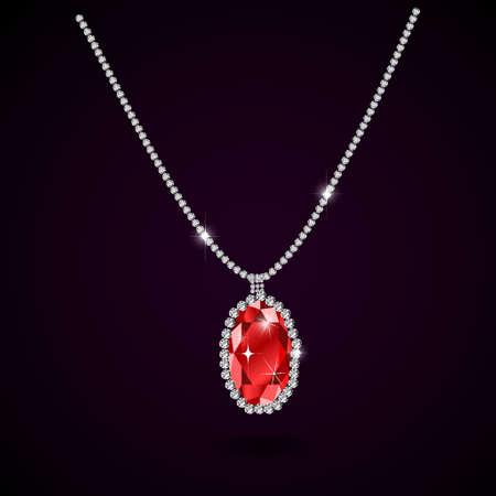 gemstone: Beautiful gemstone red ruby Red diamond