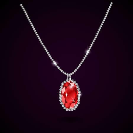 ruby: Beautiful gemstone red ruby Red diamond