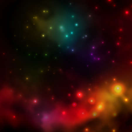 Abstract background is a space with stars Ilustração