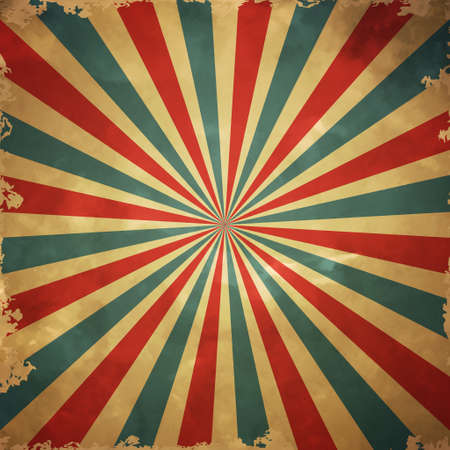 grange: Colorful retro grange background with stripes red and blue