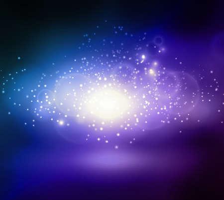 the big bang: Abstract blue background on Big Bang theme