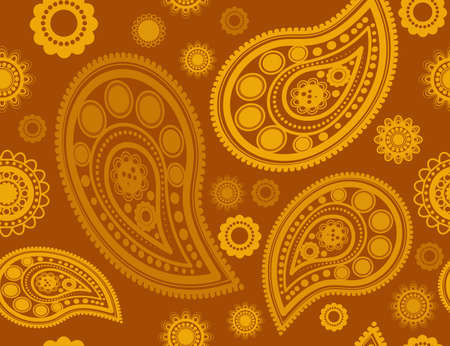 oldened: Seamless pattern in gold and yellow colors perfect for gift papers and fabrics