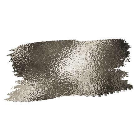 Plata textura de la pintura de manchas ilustración se podía utilizar para la Navidad u otros diseños
