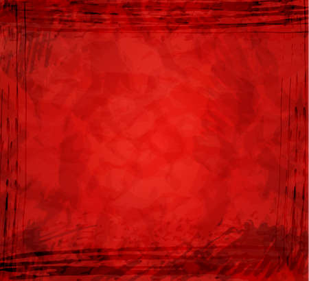 inkblots: abstract red background Illustration