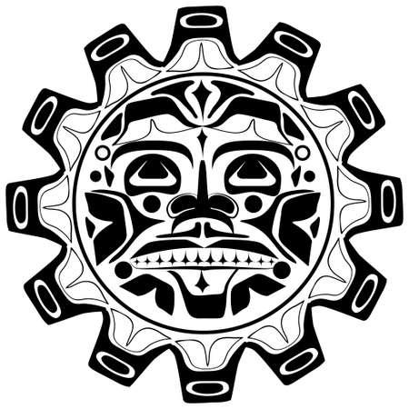 Vector illustration du symbole du soleil