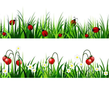 Green Grass naadloze set