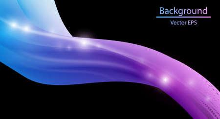 smooth: Blue Smooth wave stream Illustration