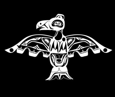 Totem bird indigenous
