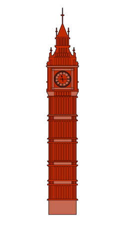 Big Ben vector