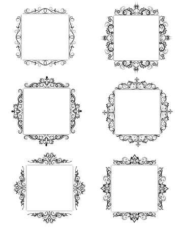 Vintage barok frame