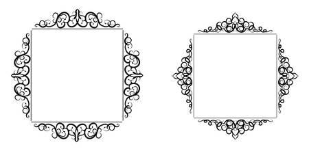 Vintage baroque frame Stock fotó - 76275378