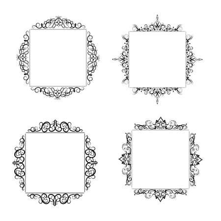 Vintage baroque frame Stock fotó - 76730916