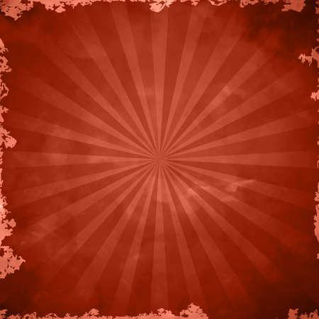 red retro grange background