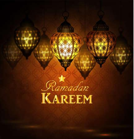 Ingewikkelde Arabische lampen met lichten
