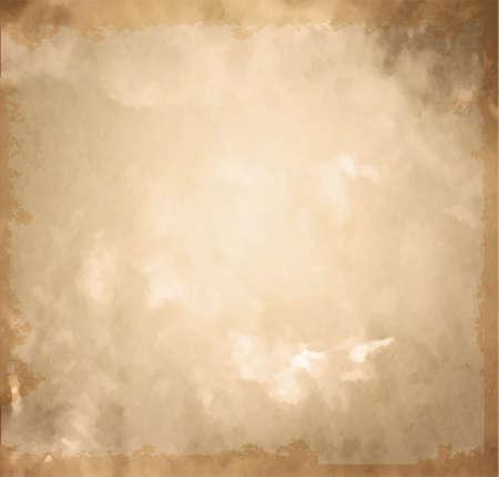 Old brown paper. Vintage paper background Иллюстрация
