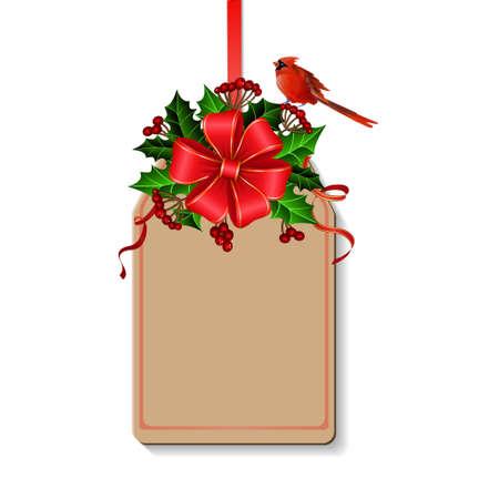 弓でクリスマスの装飾