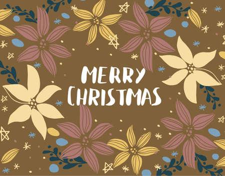 Carte de Noël avec sapin Banque d'images - 87960315