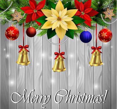 Christmas decoration evergreen trees Reklamní fotografie - 88112760