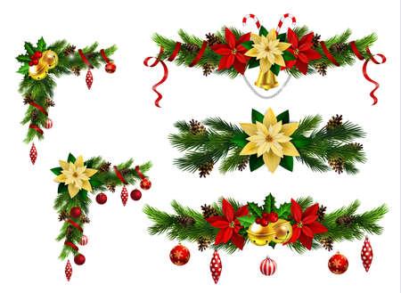 あなたのデザインのためのクリスマスの要素