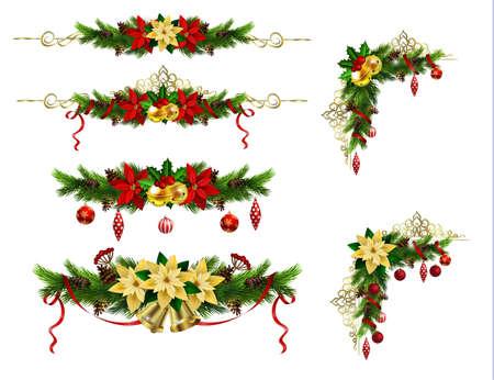 あなたのデザインのクリスマス要素