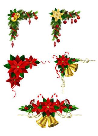 Christmas elements for your designs. Ilustração