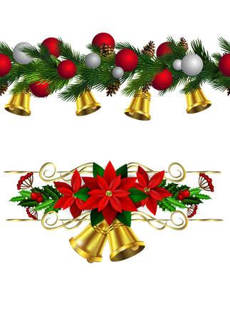 Vector Christmas Border. Illustration