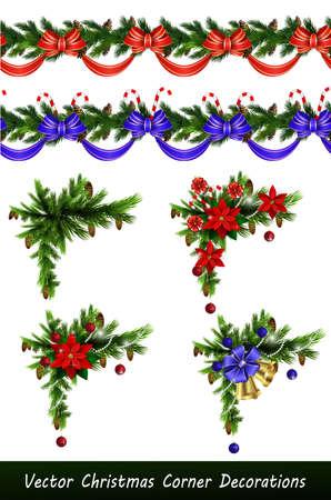 Vector Christmas Border