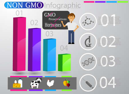 Food infographic element. Health concept