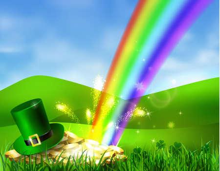 St. Patrick s Day symbol green hat