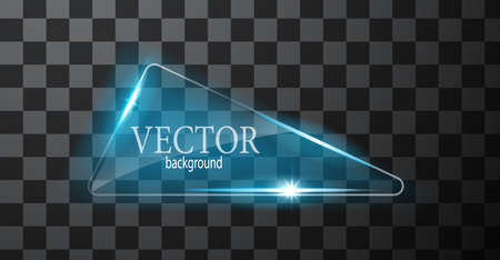 abstract neon triangle Иллюстрация