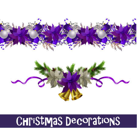 Vector Christmas Border