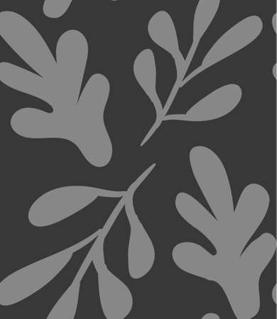 Floral seamless background of flax plant