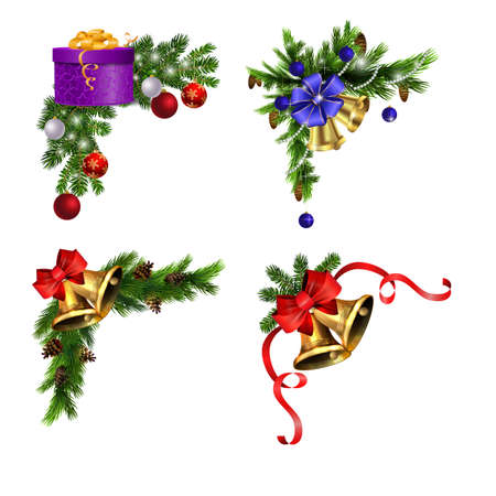 Christmas elements for your designs Stockfoto - 133489087