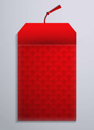 Red envelope packet for New Year