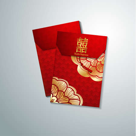 Chinese Red Envelope for New Year Foto de archivo - 138297478