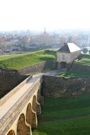 the citadel: Blaye cittadella Ponti