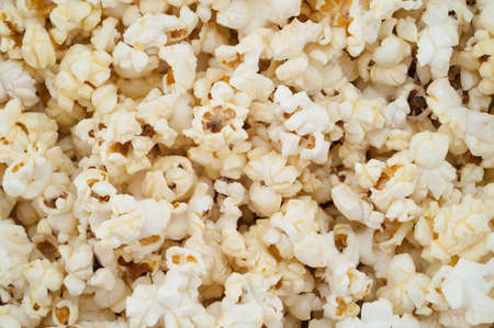 airy texture: texture background of airy popcorn
