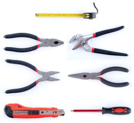 tool kit isolated on white