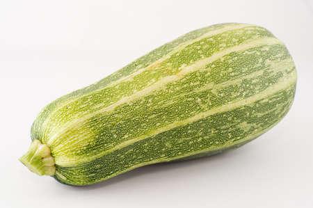 big marrow isolated on white Standard-Bild