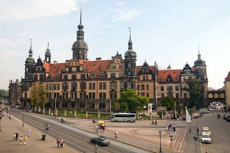Dresden Castle of German Saxony.