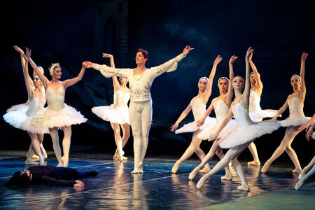 Tour of Classical Grand Ballet - Stars of the St  Petersburg Ballet Theatre  Stock Photo - 13581011