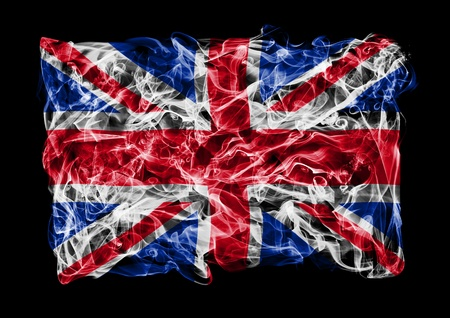 britan: The flag of Great Britan consists of a smoke