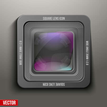 videomaker: The square icon photo or video camera.