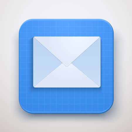 Envelope Mail icon. Premium design.isolated and editable. Stock Vector - 23467877