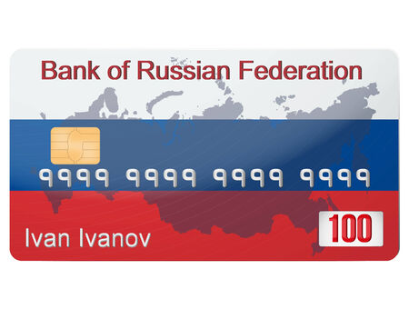 sanction: Russian banking credit card