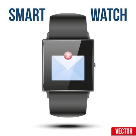 알림: 새 메일이 스마트 시계에 알림을 수신