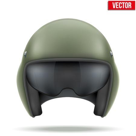3bf49f35c233c6  30822198 - Militaire vlucht helikopter helm Vector illustratie op een witte  achtergrond