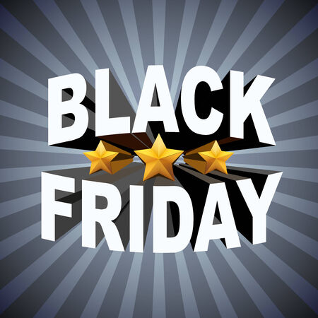 Background of Black Friday sales Vector